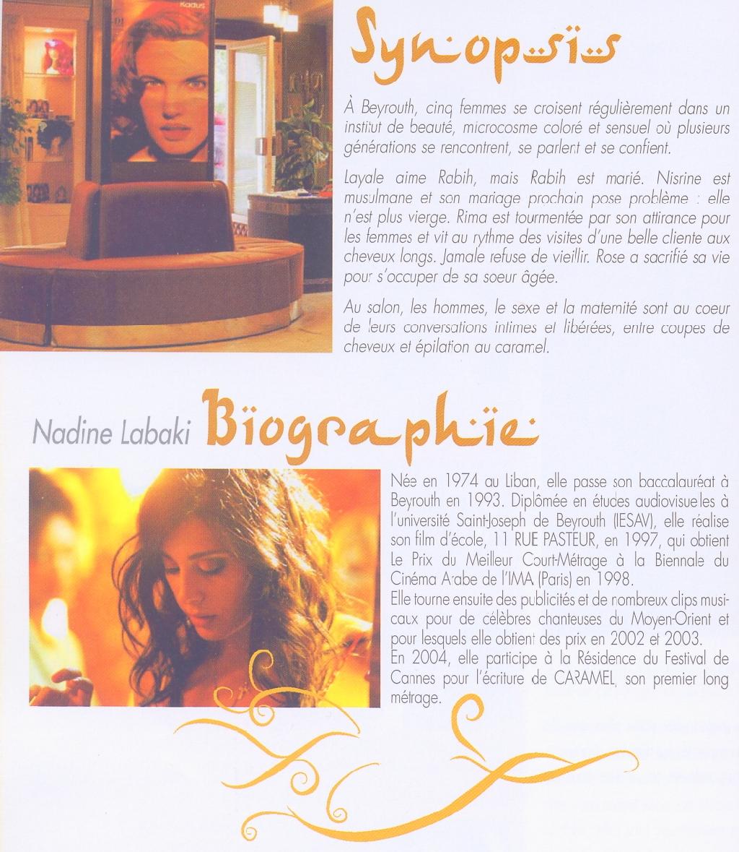 La recette de Caramel et les références du chef de cuisine, Nadine Labaki.