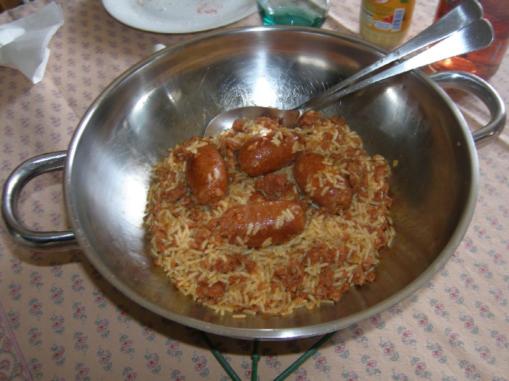 Chorizo frais à la Camarguaise.