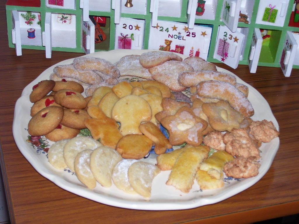Bredele de Babette Ch. pour Noël 2008. Source photographique : Babette Ch. C/O la recette du dredi.