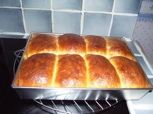 Les petits-pains kougelhopf de Cléa la petite squaw !