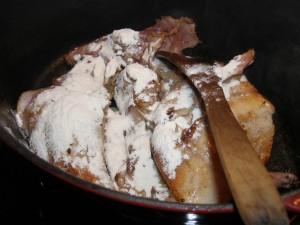 Le lapin doré va se faire rouler dans la farine (dicton franc-comtois).