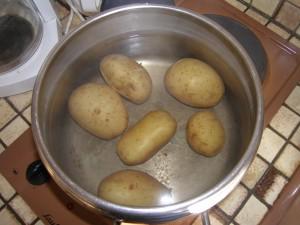 Au tour des pommes de terre...