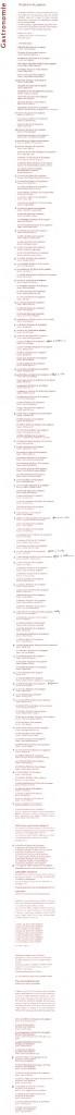 Les titres de la collection Dix façons de préparer, début 2009...