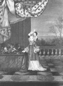 """Le grand dauphin enfant (peinture par J. Werner) à qui Jean de la Fontaine dédicaça, en 1668, ses """"Fables choisies mises en vers"""", alors que le grand dauphin avait 6 ans et demi !"""