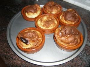 Et une portion individuelle de tatin crêpe aux pommes !