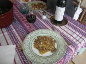 Irish stew (avec un Château Saint-Clare 1996, cru Médoc bourgeois, ça le fait !).