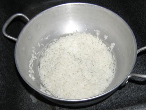 le riz la cuisson vapeur la recette du dredi. Black Bedroom Furniture Sets. Home Design Ideas