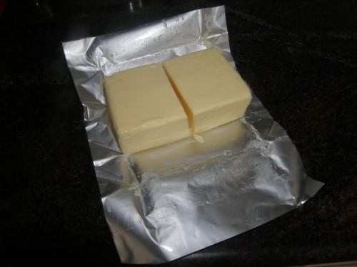 comment avoir 100 g de beurre