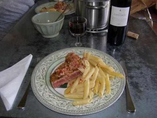 Blog cuisine recettes de cuisine recueil de recettes - Recette steak de thon grille ...